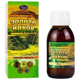 Амарантовое масло Золото инков