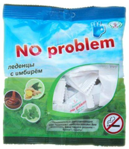 Леденцы NO problem с имбирем Alt