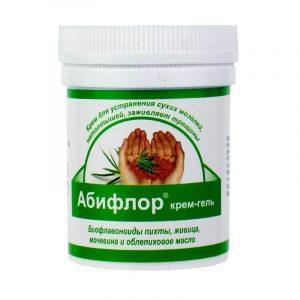 Абифлор крем-гель для ног и рук с мочевиной и облепиховым маслом