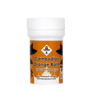 камбоджийские бальзамы оранжевый лимфодренажный и противоцеллюлитный Alt
