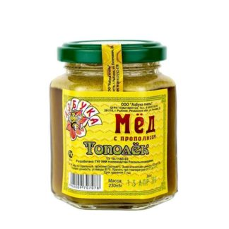 мед тополек